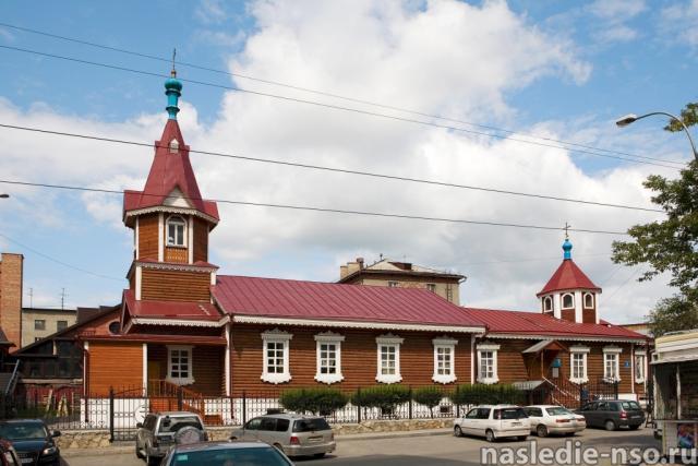 Церковь Покрова Пресвятой Богородицы (Октябрьская, 9). 1901г.
